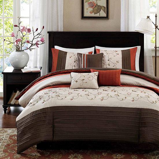 Madison Park Mandera 7 Pc Comforter Set