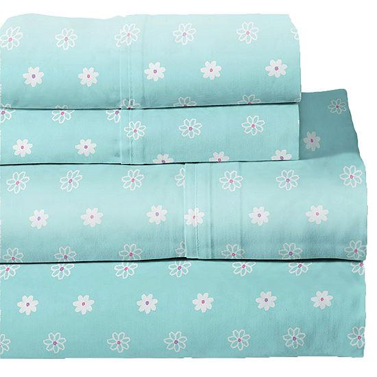 Lullaby Bedding Butterfly Print Sheet Set