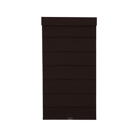 JCPenney Home Cordless Fauxsilk Roller Roman Shades, One Size , Brown