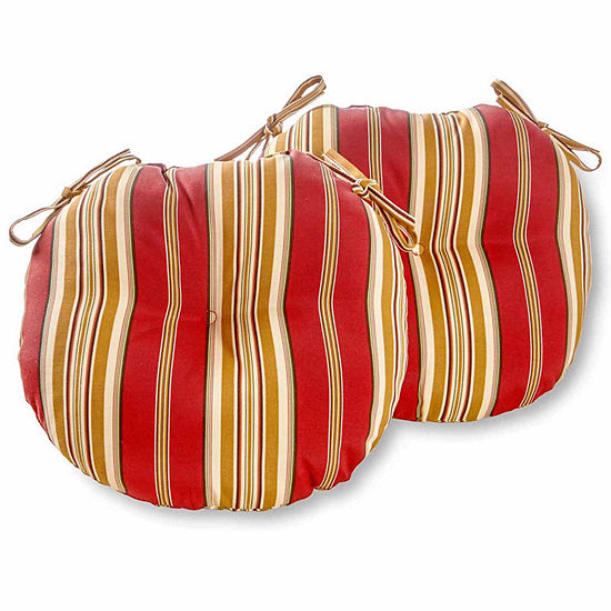 "15""Outdoor Bistro Chair Cushion Set of 2"