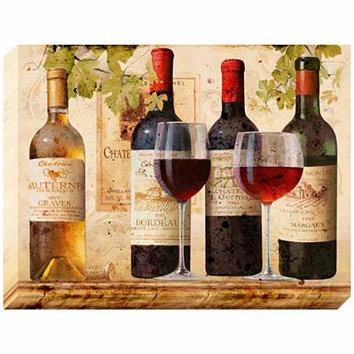 Pinnacle Wine Tasting Canvas Art