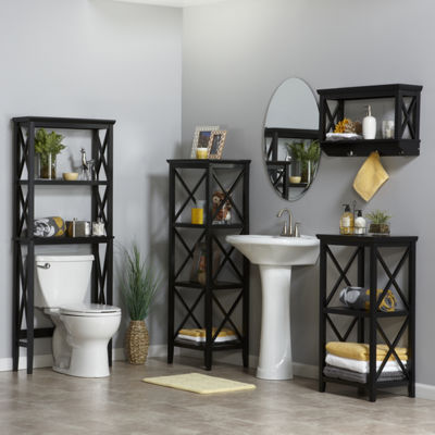 3-Shelf Bathroom Shelf