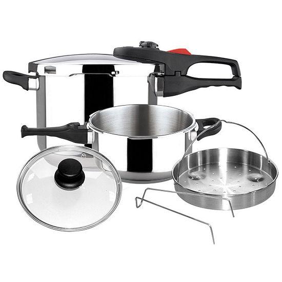 6-pc. Pressure Cooker