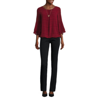 jcpenney.com | Alyx 3/4 Sleeve Blouse or Straight-Leg Pull-On Pants