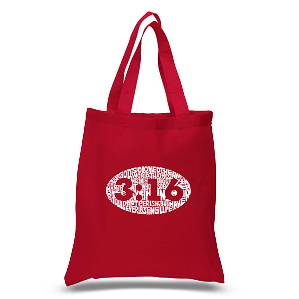Los Angeles Pop Art John 3:16 Tote