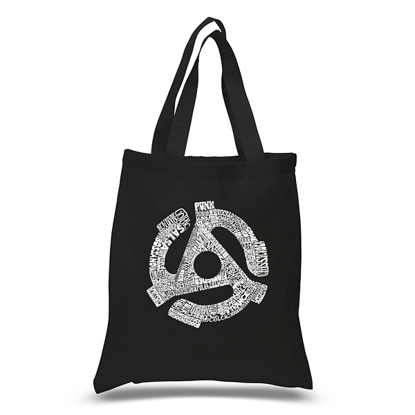 Los Angeles Pop Art Record Adapter Tote