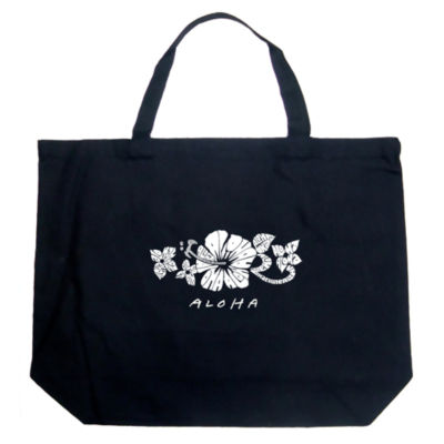 Los Angeles Pop Art Aloha Tote
