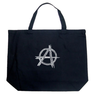 Los Angeles Pop Art Great All Time Punk Songs Tote