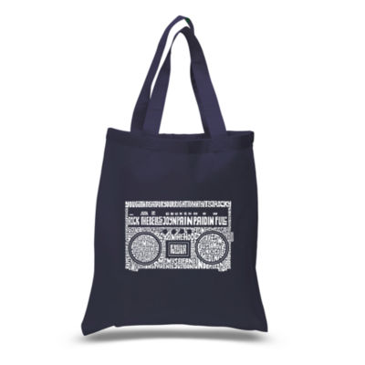 Los Angeles Pop Art Greatest Rap Hits Of The 1980's Tote