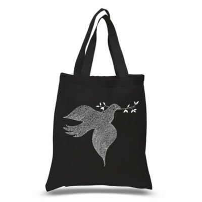 Los Angeles Pop Art Dove Tote