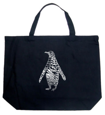 Los Angeles Pop Art Penguin Tote
