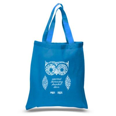 Los Angeles Pop Art Owl Tote