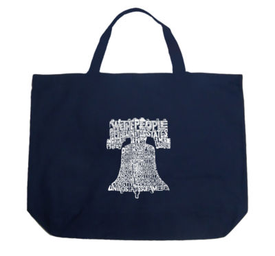 Los Angeles Pop Art Liberty Bell Tote