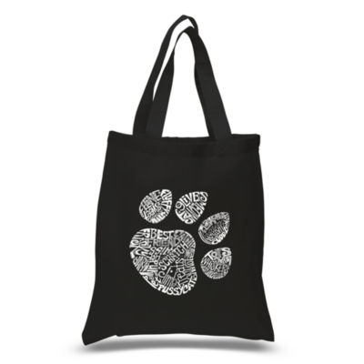 Los Angeles Pop Art Cat Paw Tote