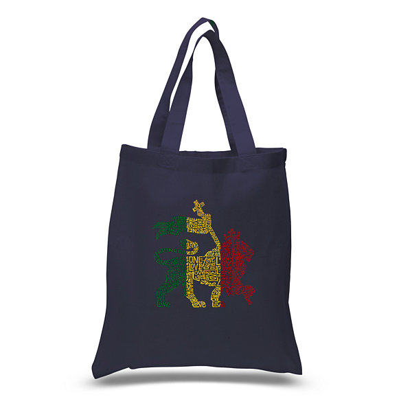 Los Angeles Pop Art Rasta Lion - One Love Tote