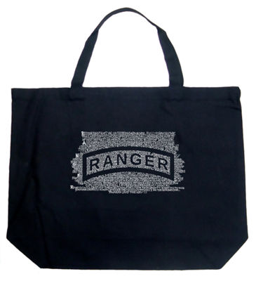 Los Angeles Pop Art The Us Ranger Creed Tote