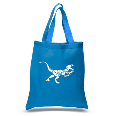 Los Angeles Pop Art Velociraptor Tote