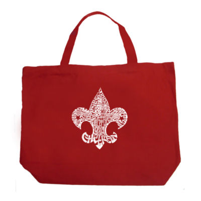 Los Angeles Pop Art 12 Points Of Scout Law Tote