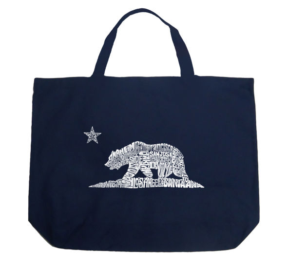 Los Angeles Pop Art California Bear Tote