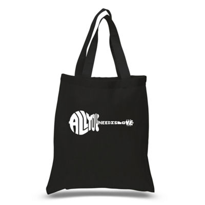 Los Angeles Pop Art All You Need Is Love Tote