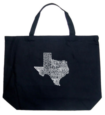 Los Angeles Pop Art The Great State Of Texas Tote