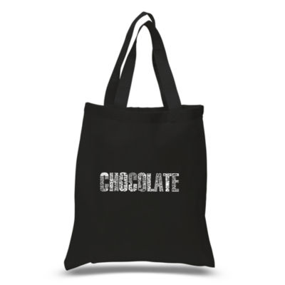Los Angeles Pop Art Different Foods Made With Chocolate Tote