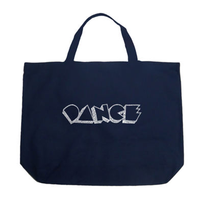 Los Angeles Pop Art Different Styles Of Dance Tote