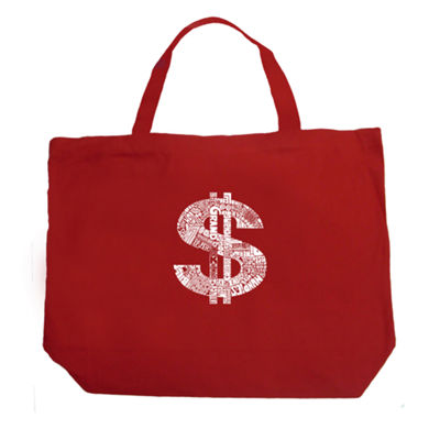 Los Angeles Pop Art Dollar Sign Tote