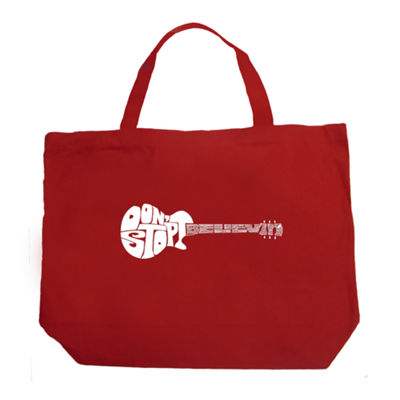 Los Angeles Pop Art Don'T Stop Believin' Tote