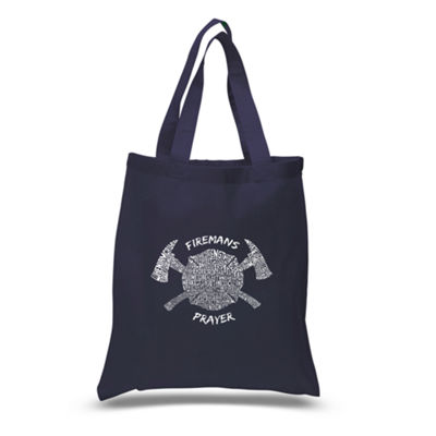 Los Angeles Pop Art Fireman's Prayer Tote