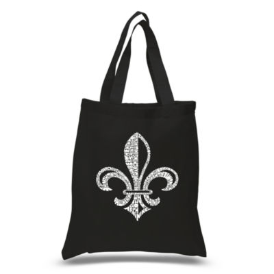 Los Angeles Pop Art Lyrics To When The Saints Go Marching In Tote