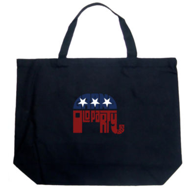 Los Angeles Pop Art Republican - Grand Old Party Tote