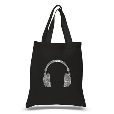Los Angeles Pop Art 63 Different Genres Of Music Tote
