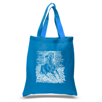 Los Angeles Pop Art Popular Horse Breeds Tote