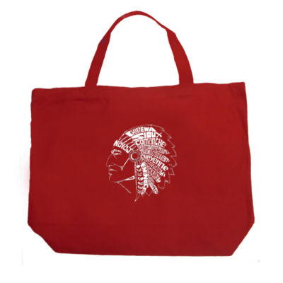 Los Angeles Pop Art Popular Native American IndianTribes Tote