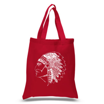 Los Angeles Pop Art Popular Native American Indian Tribes Tote