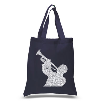 Los Angeles Pop Art All Time Jazz Songs Tote