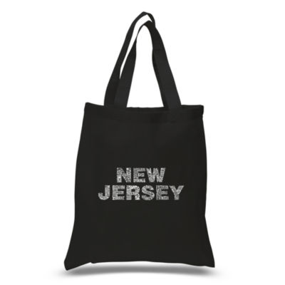 Los Angeles Pop Art New Jersey Neighborhoods Tote