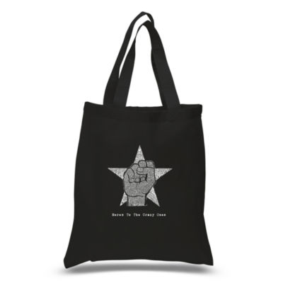 Los Angeles Pop Art Steve Jobs - Here's To The Crazy Ones Tote