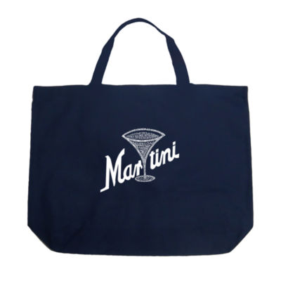Los Angeles Pop Art Martini Tote