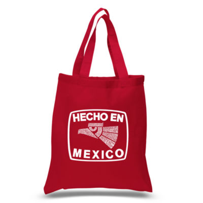 Los Angeles Pop Art Hecho En Mexico Tote