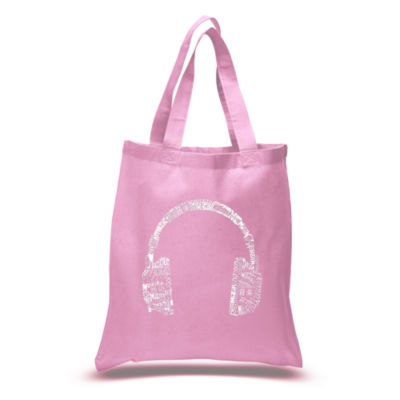 Los Angeles Pop Art Headphones - Languages Tote