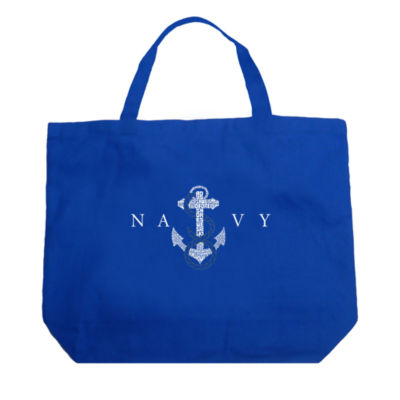 Los Angeles Pop Art Lyrics To Anchors Aweigh Tote
