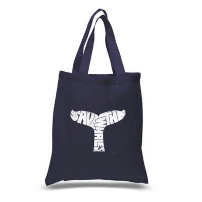 Los Angeles Pop Art Save The Whales Tote