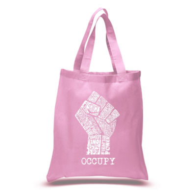 Los Angeles Pop Art Occupy Wall Street - Fight The Power Tote