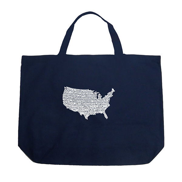 Los Angeles Pop Art The Star Spangled Banner Tote