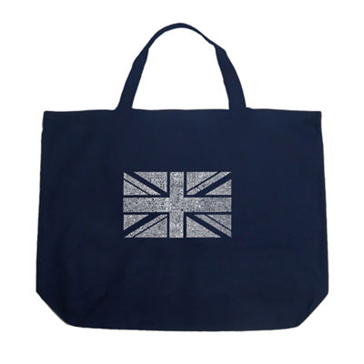 Los Angeles Pop Art Union Jack Tote