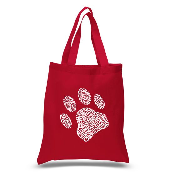 Los Angeles Pop Art Dog Paw Tote