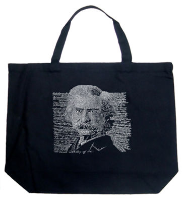 Los Angeles Pop Art Mark Twain Tote