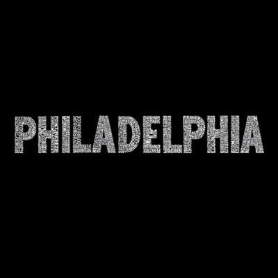 Los Angeles Pop Art Philadelphia Neighborhoods Tote